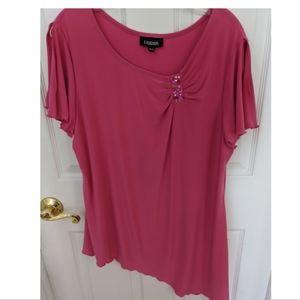 Tops - Lindor Asymmetrical Dressy Top